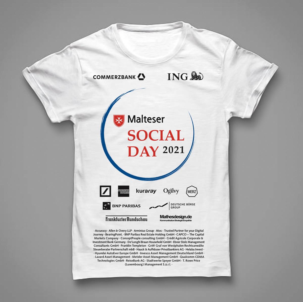 Social Day 2021 - Die Unternehmen - T-Shirt